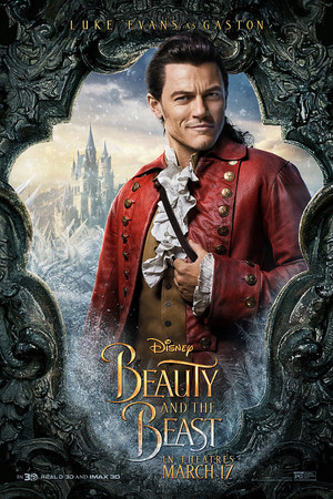 Beauty and the Beast (2017) Character Poster - Gaston