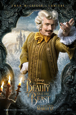 Beauty and the Beast (2017) Character Poster - Lumiere