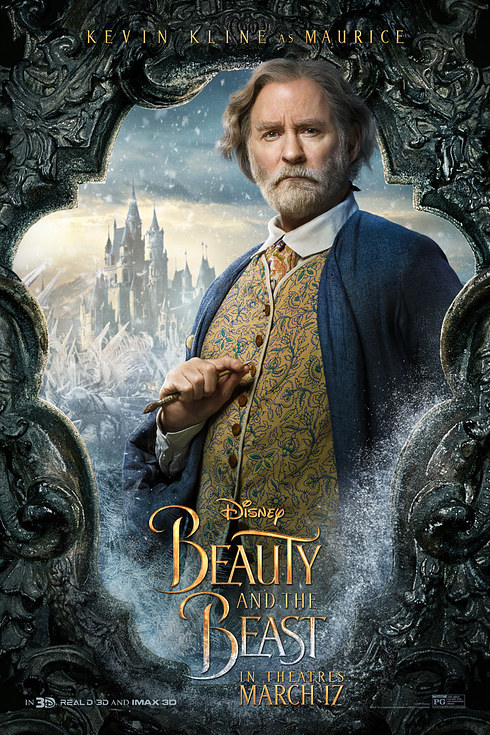 Beauty and the Beast (2017) Character Poster - Maurice