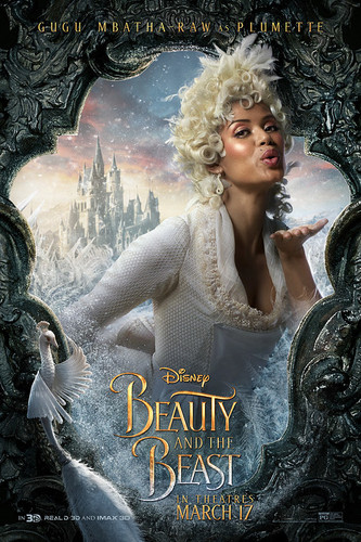 Disney Princess پیپر وال titled Beauty and the Beast (2017) Character Poster - Plumette