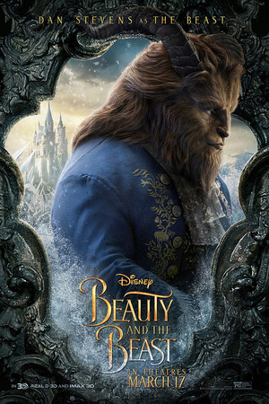 Beauty and the Beast (2017) Character Poster - The Beast
