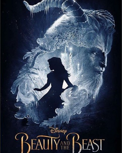 Disney Princess wolpeyper called Beauty and the Beast (2017) Film Poster