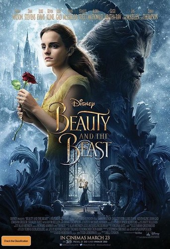 Beauty and the Beast (2017) wallpaper titled Beauty and the Beast poster