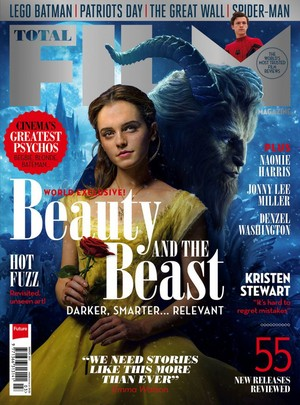 Beauty and the Beast covers Total Film (March 2017)