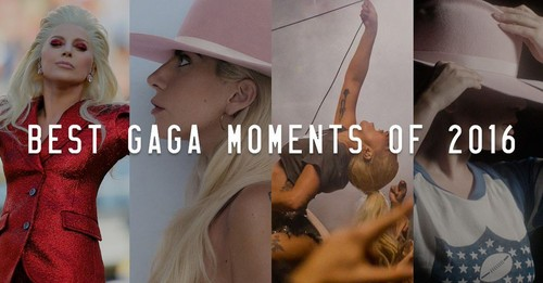 Lady Gaga karatasi la kupamba ukuta titled Best of 2016