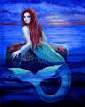 Blue Mermaid - mermaids photo