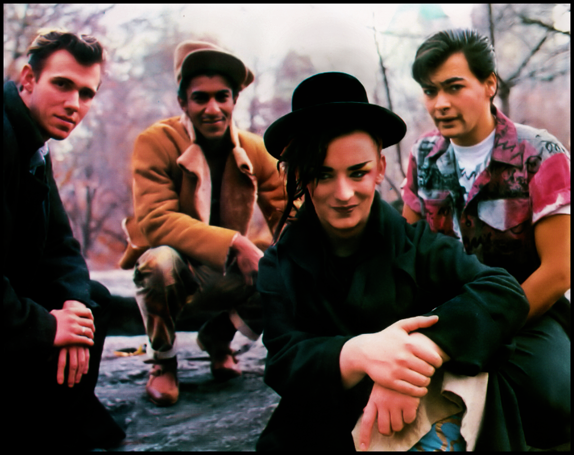 Boy George With Culture Club