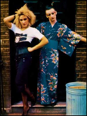 Marilyn and Boy George