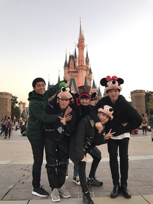 Boys Republic Japan Update in Disneyland