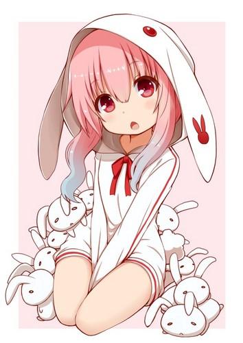 Kawaii wallpaper called Bunny girl