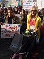 Candice at Women's March 2017 - candice-accola photo