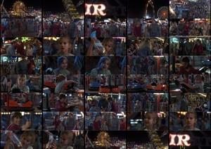 Carnival scene collage