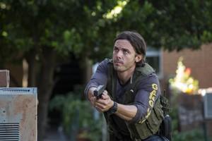Casey Affleck as Chris Allen in Triple 9