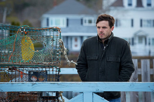 Casey Affleck as Lee Chandler in Manchester द्वारा the Sea