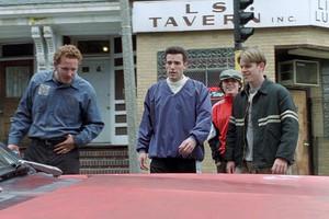 Casey Affleck as Morgan O'Mally in Good Will Hunting