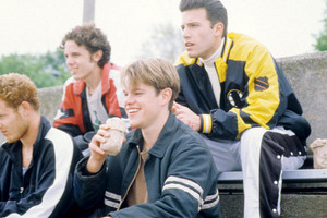Casey Affleck as morgan O'Mally in Good Will Hunting