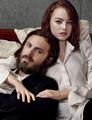 Casey Affleck and Emma Stone - W Magazine Photoshoot - 2017