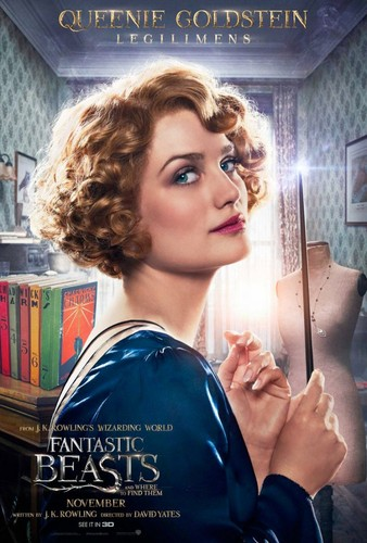 Fantastic Beasts and Where to Find Them wallpaper called Character Portrait ~ Queenie Goldstein
