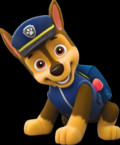 PAW Patrol karatasi la kupamba ukuta titled Chase, The German Shepherd