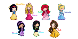 Chibi Princesses