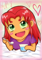 Chibi Yum - starfire fan art
