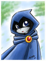 Chibi raven - raven photo