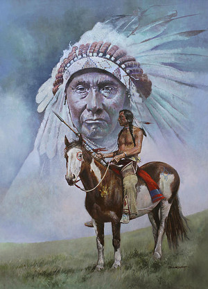 Chief Joseph by Chris Collingwood
