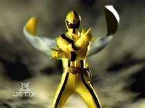 Chip Morphed As The Yellow Mystic Ranger