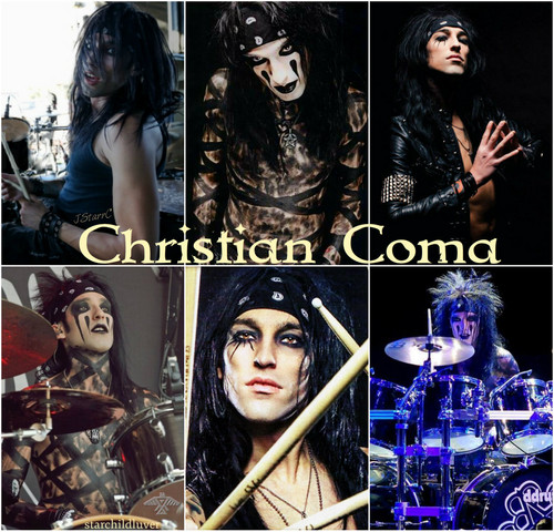Black Veil Brides images Christian Coma HD wallpaper and ...
