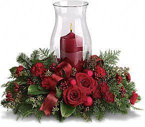 krisimasi CenterPiece candles 18315058 290 254
