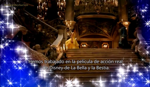 natal Message from the cast Spot (Beauty and the Beast)
