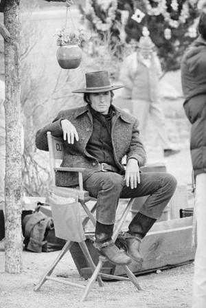 Clint Eastwood On the set of Joe Kidd