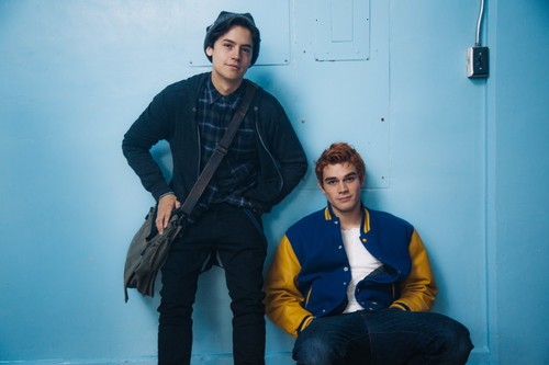 Riverdale (2017 TV series) 壁纸 entitled Cole Sprouse and K.J. Apa