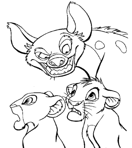 The Lion King images Coloring Pages - Simba,Nala,Banzi HD ...