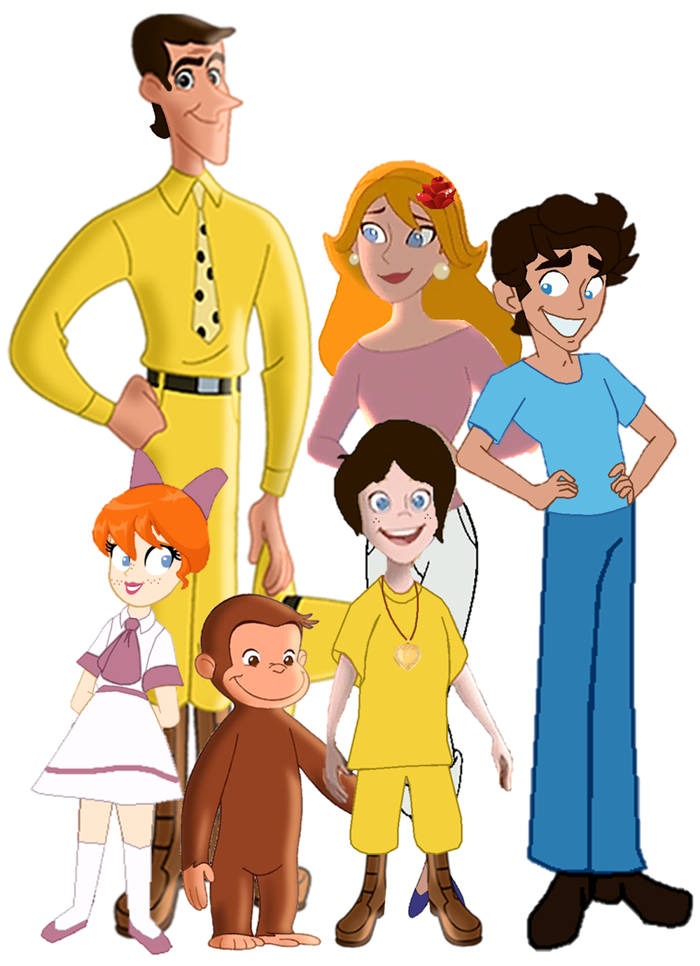 Cruz345 Images Curious George A Family Portrait HD Wallpaper And Background Photos