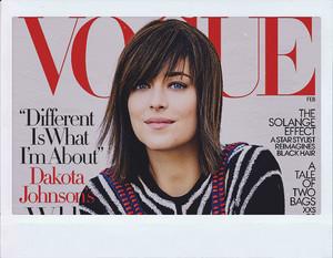 Dakota Johnson Covers 'Vogue,' Calls Anastasia Steele a Badass
