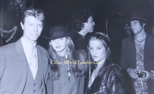 David Bowie,Priscilla and Lisa