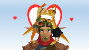 Daxter and Tess Ottsel Love with Ignore Jak