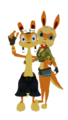 Daxter and Tess the Ottsel Renders - jak-and-daxter photo