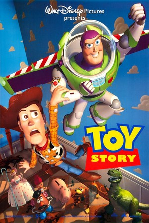 Disney's Toy Story 1995 Poster