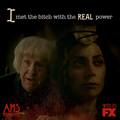 Don't let her blind you to the truth. - american-horror-story photo