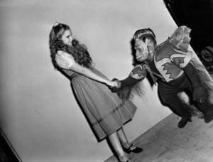 Dorothy and Flying Monkey