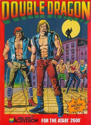 Double Dragon - Atari 2600 cover