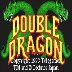 Double Dragon - Atari Lynx título Screen - icono