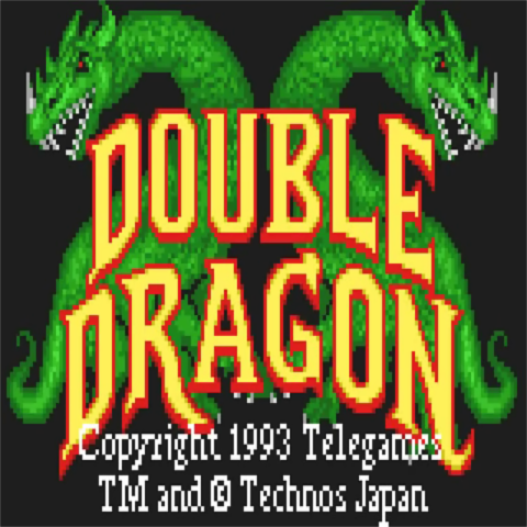Double Dragon - Atari Lynx Title Screen - Icon