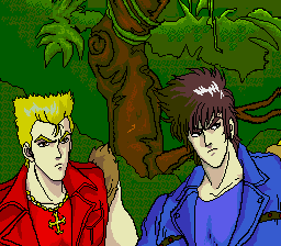 Double Dragon II - PC-Engine CD Cutscene