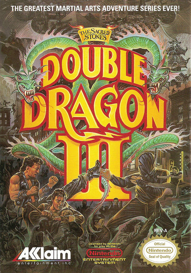 Double Dragon Iii Nes Cover Double Dragon Photo