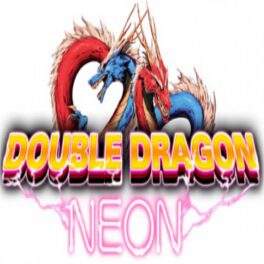 Double Dragon Neon Logo - Icon
