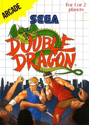 Double Dragon - Sega Master System Cover