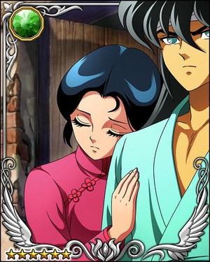 Dragon Shiryu and Shunrei
